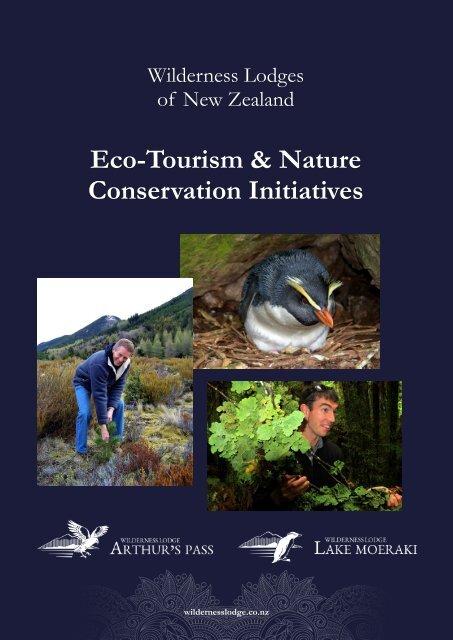 Wilderness Lodges Eco-tourism Initiatives