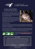 Wilderness Lodges Eco-tourism Initiatives - Page 6