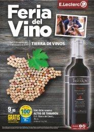 E.Leclerc VITORIA Feria del Vino del 27 de Septiembre al 15 de Octubre 2017