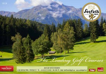 The leading golf-courses