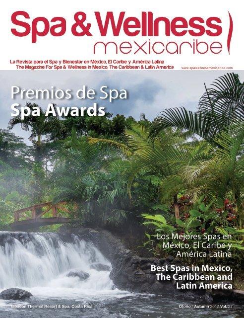 19b583314bb Spa & Wellness MexiCaribe 27, Otoño 2017