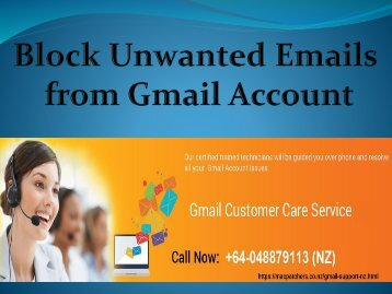 Block Unwanted Emails from Gmail Account