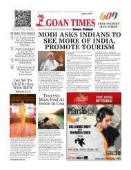 GoanTimes September 29th 2017 Edition