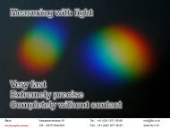 Measuring with light - Solutions with flo-ir