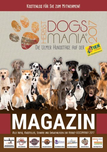 Magazin Herbst DOGSMANIA 2017