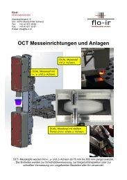 OCT-Messeinrichtungen und Anlagen