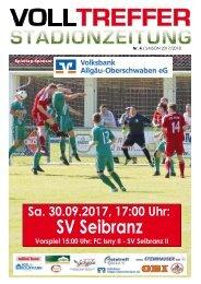 4. Ausgabe Stadionzeitung 2017/18
