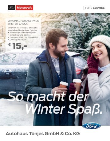 So macht der Winter Spass
