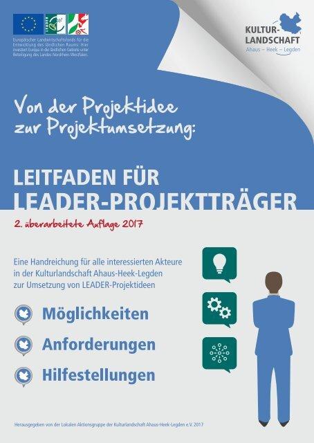 Leitfaden für LEADER-Projektträger 2017