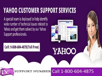 1-800-604-4875 Yahoo Mail Customer Support Services.