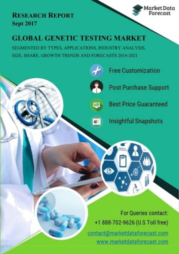 Global Genetic Testing Market Report and Forecast