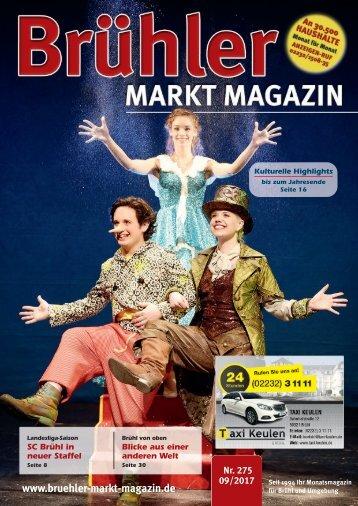 Brühler Markt Magazin September 2017