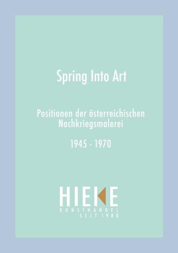 Spring Into Art - Kat