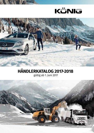 König Schneeketten Katalog 2017-18