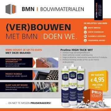 BMN krant - (ver)bouwen met bmn > doen we. Editie oktober 2017