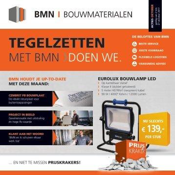 BMN krant - tegelzetten met bmn > doen we. Editie oktober 2017
