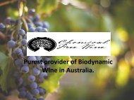 Organic Red Wine Australia