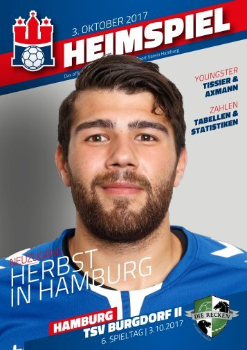 Handball Sport Verein Hamburg I Hallenheft TSV Burgdorf II