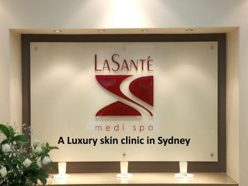 Spider Vein Removal Sydney - Le Sante Medi Spa