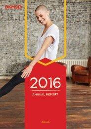 DKMS Jahresbericht 2016 EN