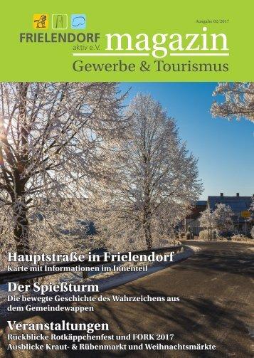 Frielendorf aktiv e.V. Magazin Gewerbe & Tourismus 2/2017