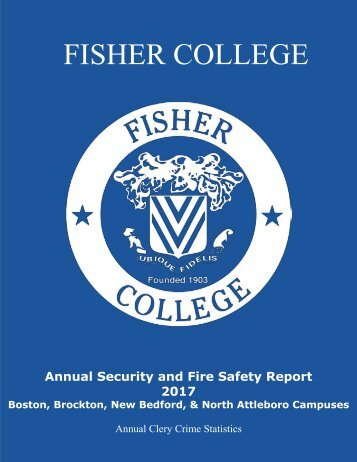 Annual Security and Fire Safety Report 2017 Final
