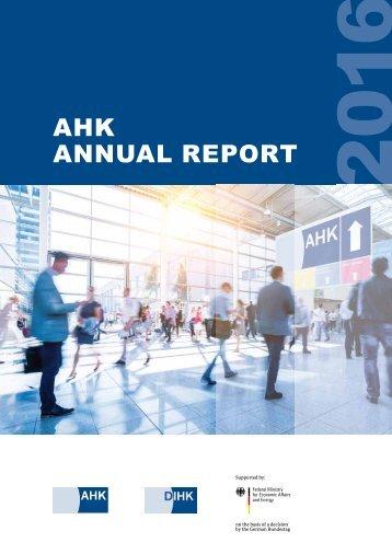 AHK Annual Report 2016