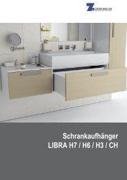Schrankaufhänger LIBRA H