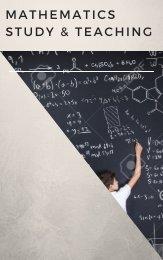 Math Study & Teaching