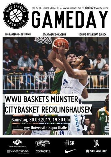 WWU Baskets Gameday # 2 2017_18