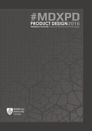 #MDXPD PRODUCT DESIGN 2016