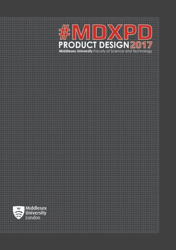 #MDXPD PRODUCT DESIGN 2017