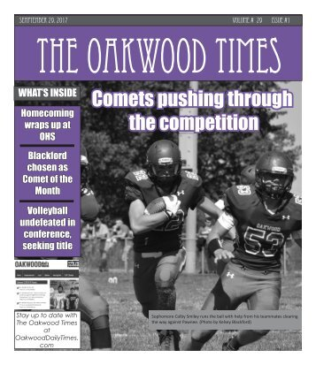 The Oakwood Times September Monthly