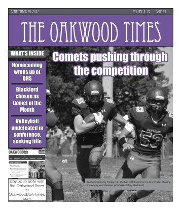 The Oakwood Times September Monthly