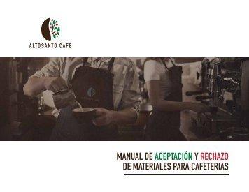 MATERIALES PARA CAFETERIAS