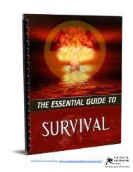 The Essential Guide To Survival