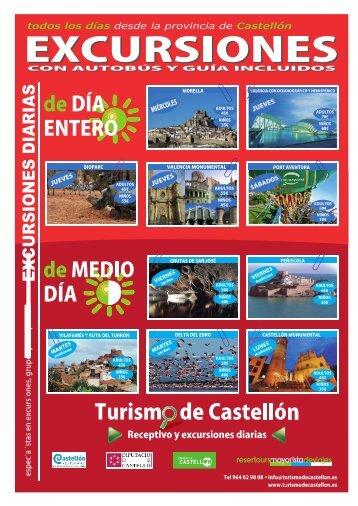 Catalogo Turismo de Castellon Receptivo y Excursiones