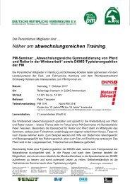 Einladung HAM-SHO Gymnastizierung Winter 07 10 17 Ammersbek