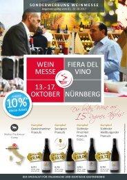 Sonderwerbung Weinmesse 2017