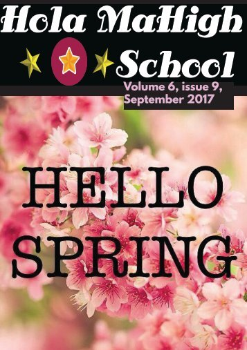 Hola MaHigh-School - September 2017