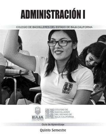 Administración I Libro