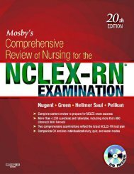 Mosbys Comprehensive Review of Nursing for the NCLEX 20th Edition