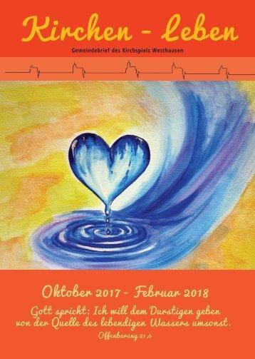 Termine_Gemeindebrief Kirchspiel Westhausen von Oktober 2017 bis Februar 2018