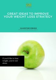 Great Ideas To Improve Your Weight Loss Strategy