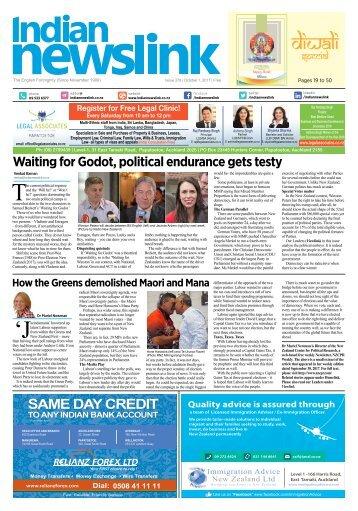 Indian Newslink October 1, 2017 Digital Edition