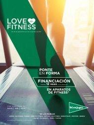 Catálogo El corte Inglés LOVE FITNESS hasta 5 de Noviembre 2017