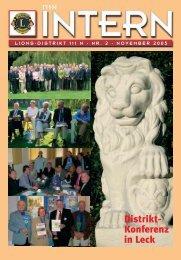111N Intern Ausgabe November 2005 - zur Mitgliederzeitschrift ...