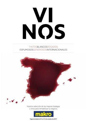 Makro Ofertas Catálogo de vinos del 1 al 31 de Octubre 2017