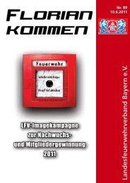 Ausgabe Nummer 89 - Landesfeuerwehrverband Bayern