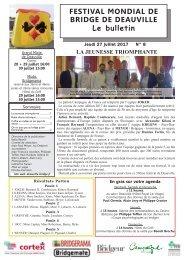 Bulletin N°8 2017